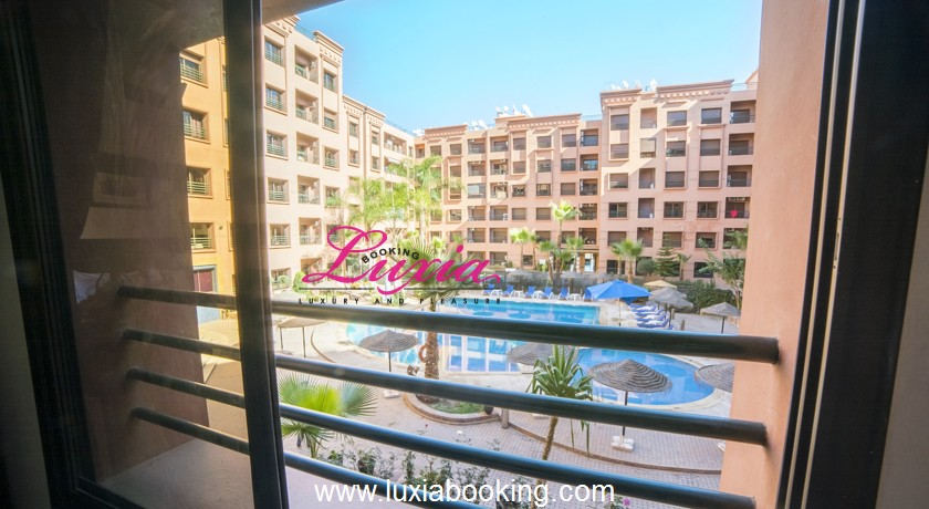 Appart hotel ryad mogador menzah marrakech for Appartement piscine marrakech