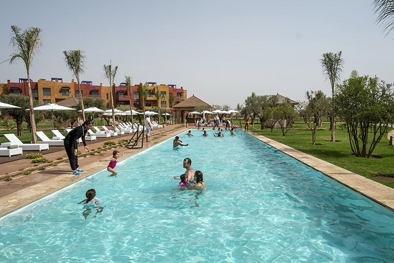 Hotel le vizir center parc resort marrakech for Center parc sarrebourg piscine
