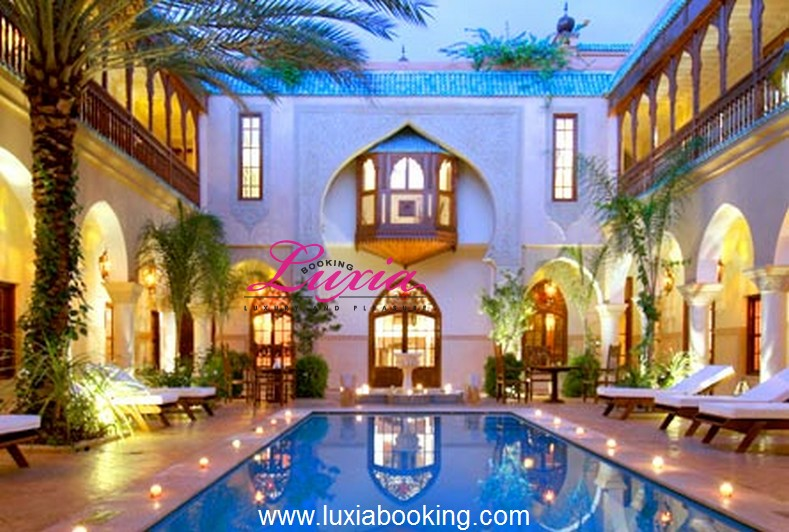 Riad demeures d 39 orient luxe spa marrakech for Riad marrakech piscine chauffee