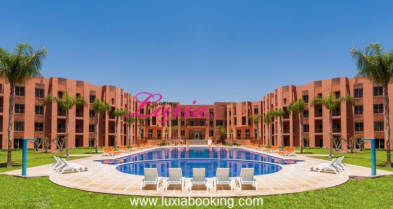 Hotel palm appart hotel marrakech for Appart hotel montpellier avec piscine