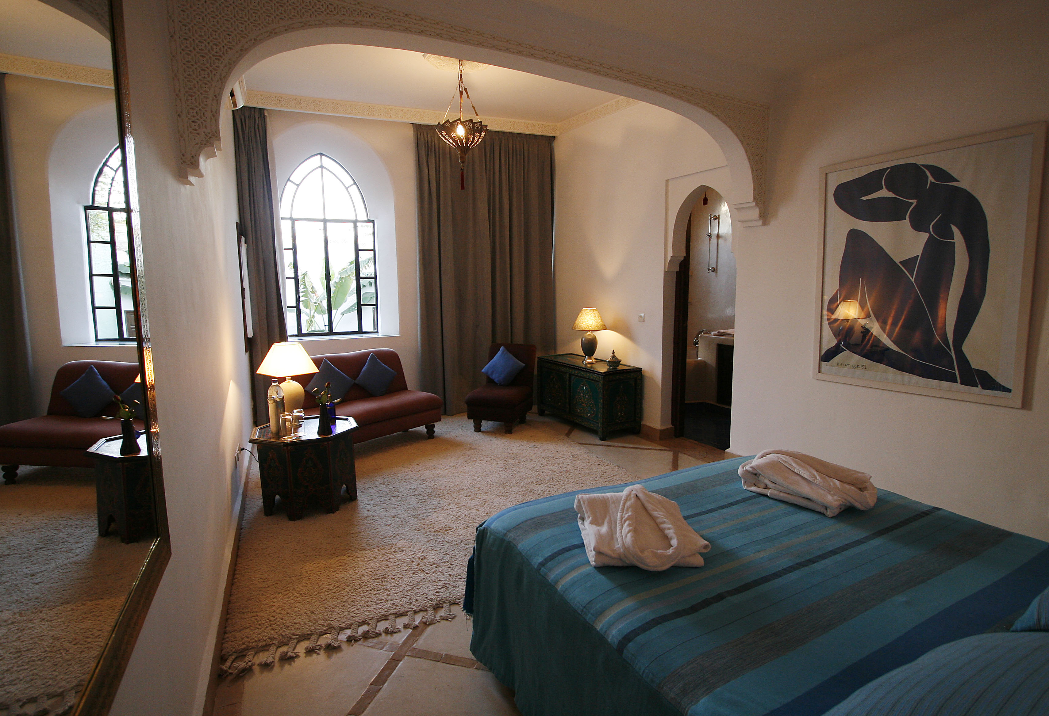 Riad chergui marrakech for Deco salon chambre