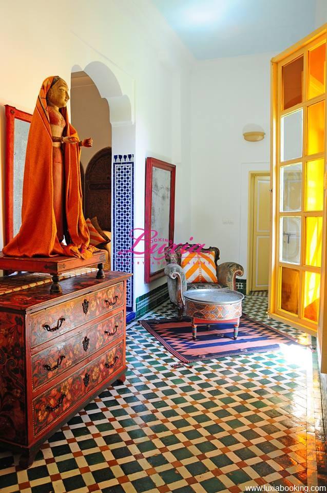 Riad le jardin des biehn fes for Chambre 13 maroc