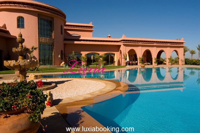 Villa les jardins d 39 hotes spa marrakech for Les jardins de la villa booking