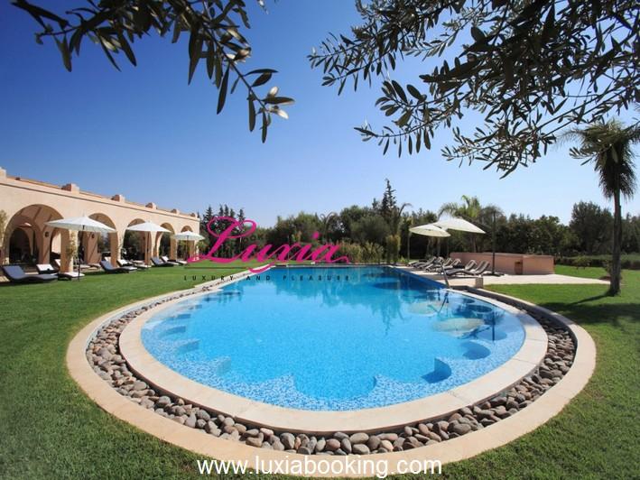 Villa marquise marrakech for Tempting places