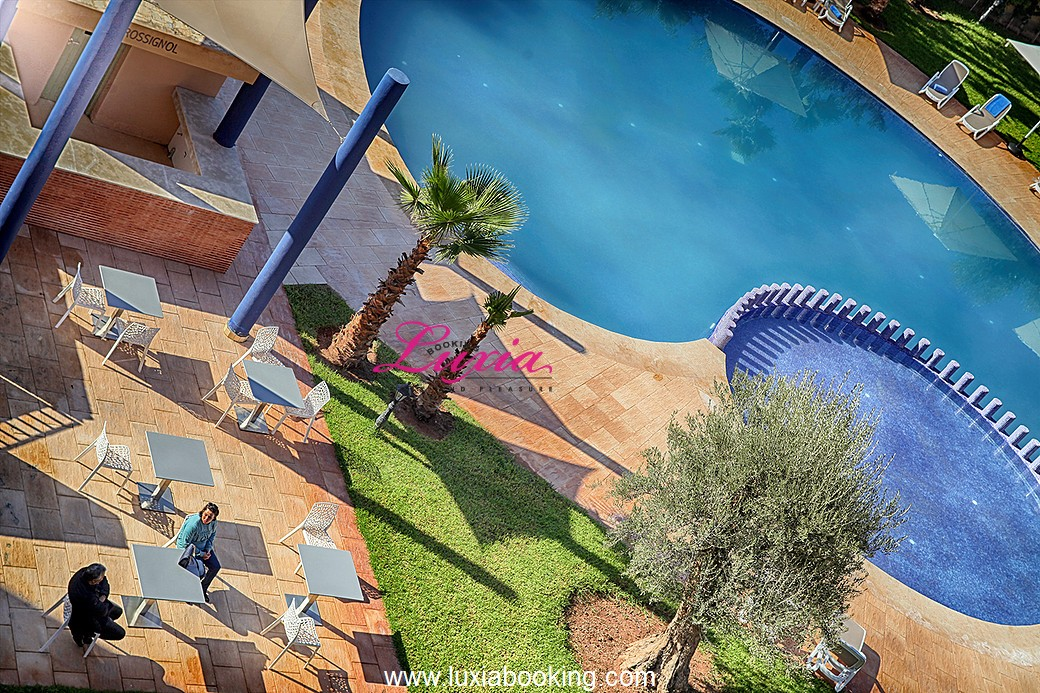 Wazo appart hotel marrakech for Reservation appart hotel