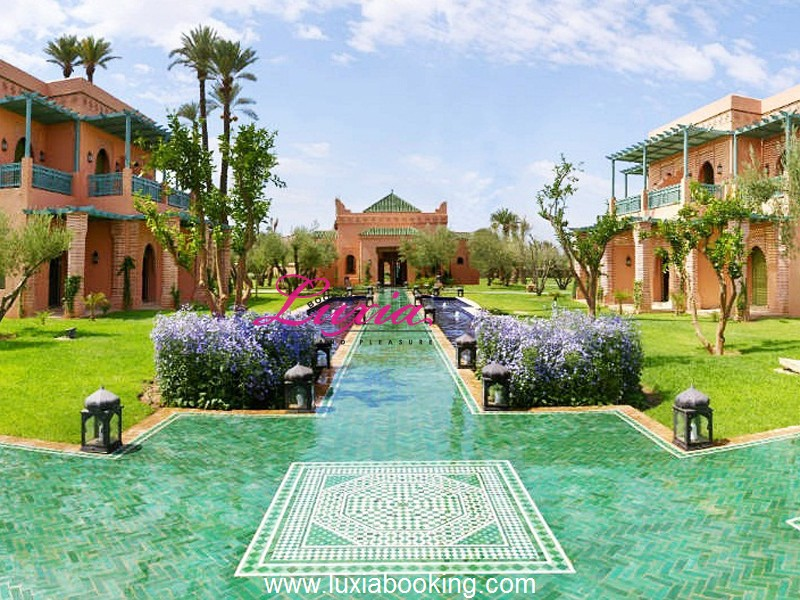 Les jardins d ines palmeraie marrakech for Reservation appart hotel