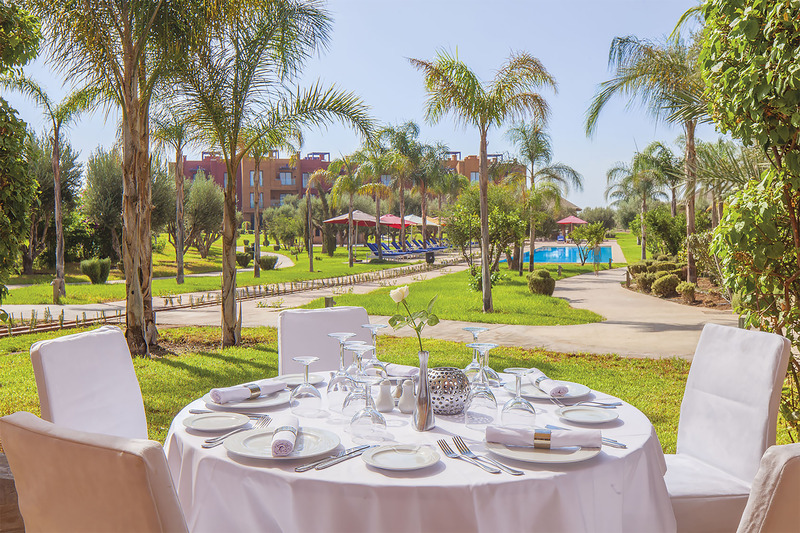 Hotel le vizir center parc resort marrakech for Hotels 5 etoiles marrakech