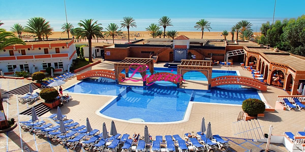 hotel club almoggar garden beach agadir agadir. Black Bedroom Furniture Sets. Home Design Ideas